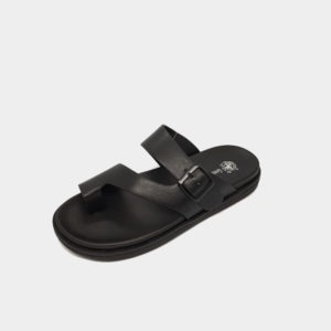 GREEN POINT CLUB SANDALS BLACK