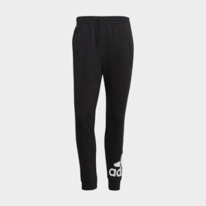 ADIDAS ESSENTIALS FRENCH TERRY TAPERED CUFF LOGO PANTS