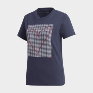 ADI HEART GRAPHIC TEE