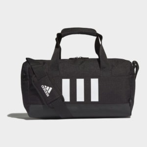 ADIDAS ESSENTIALS 3-STRIPES DUFFEL BAG EXTRA SMALL