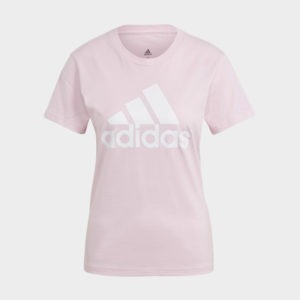 ADIDAS LOUNGEWEAR ESSENTIALS LOGO TEE